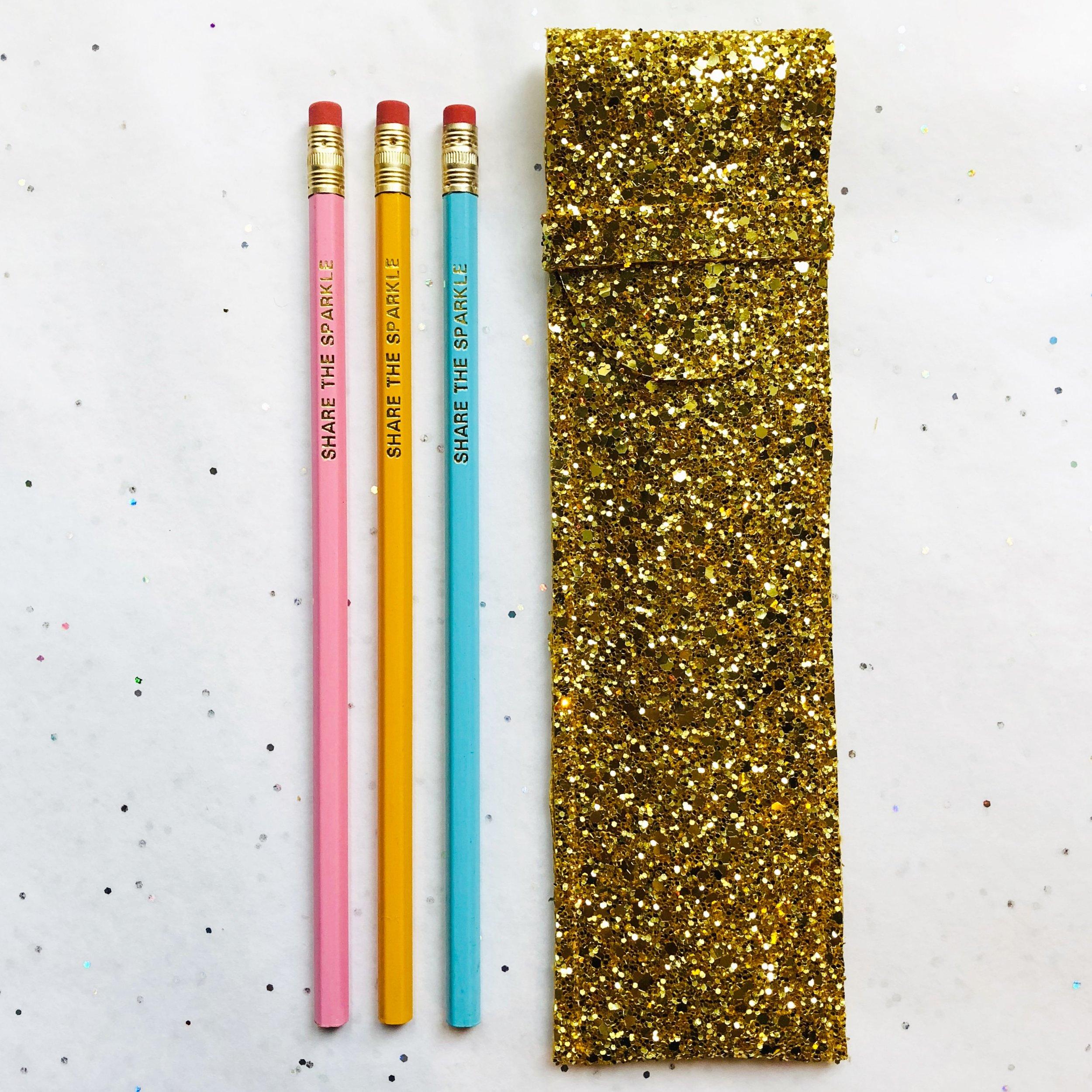 Share the Sparkle Pencil case