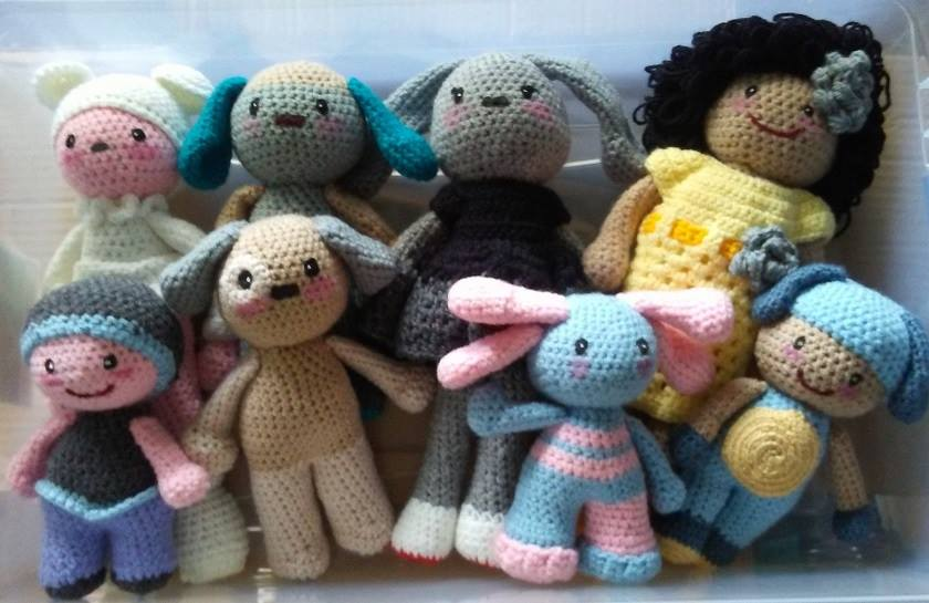 Some of our poppets…available soon!