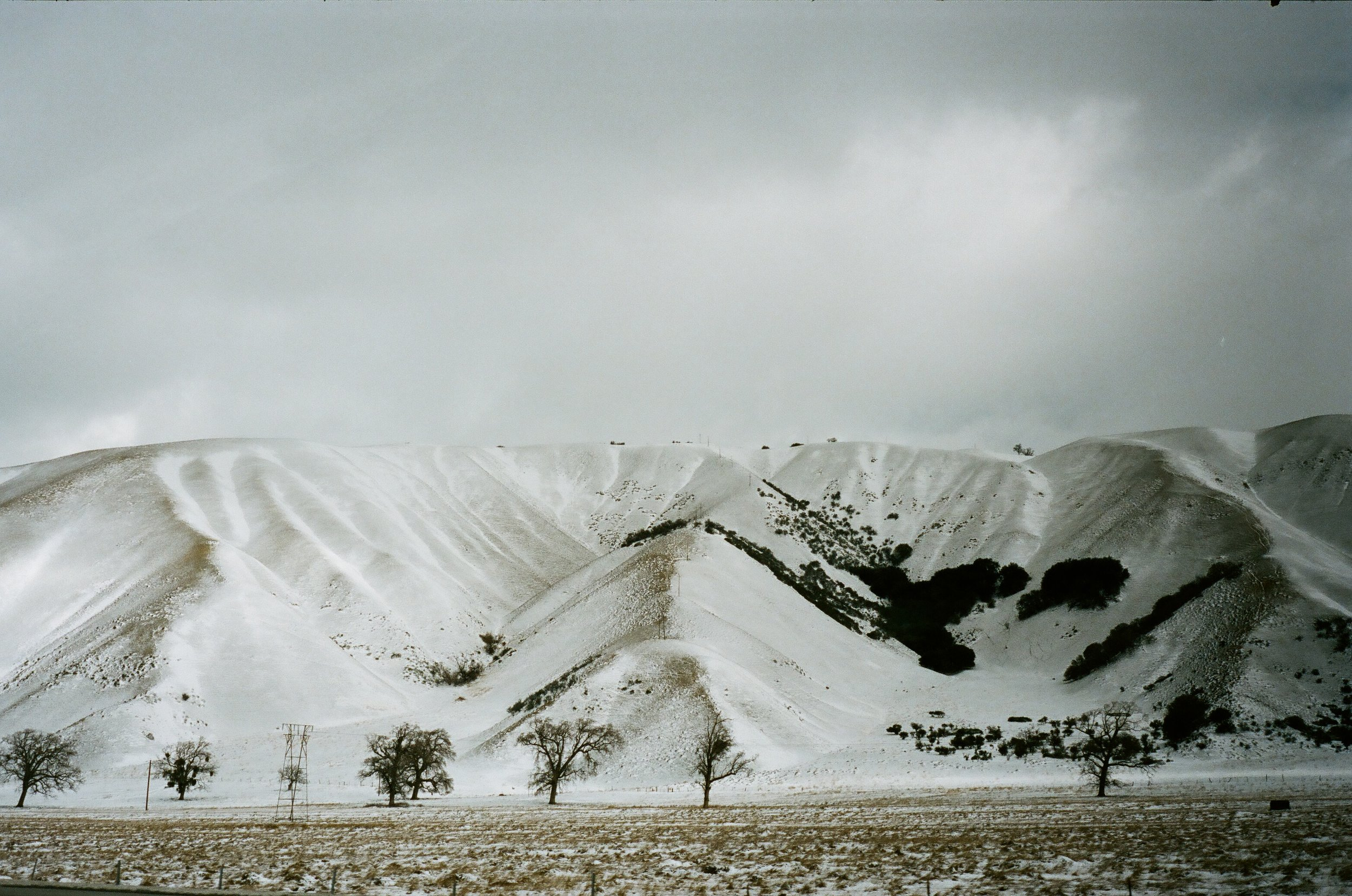 Tejon Pass, California
