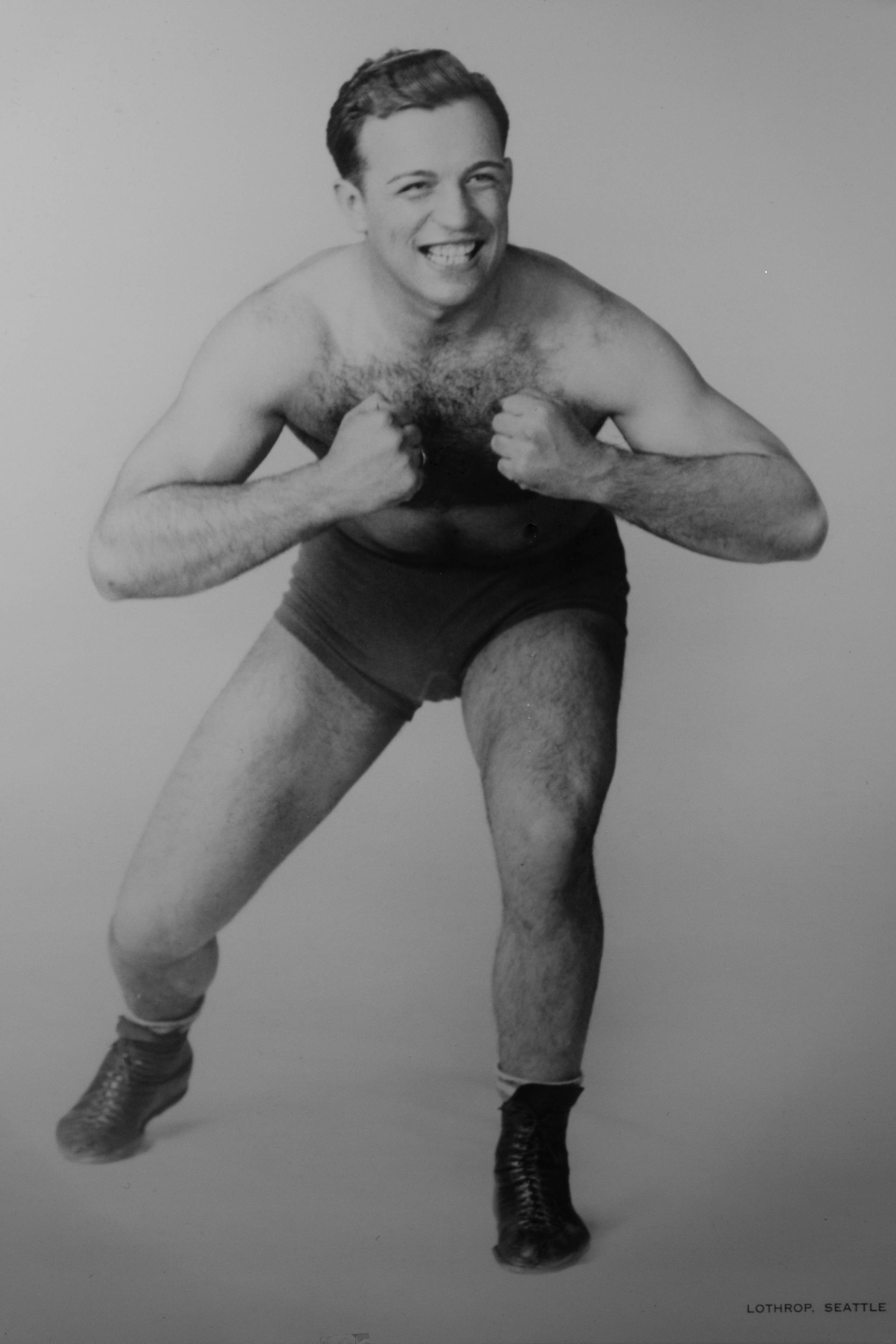 This is uncle Mike, one of my many professional wrestling uncles from back in the days before steroids and folding chairs. My dad was the youngest, tallest, skinniest, and also the most,actually the only bookish brother, and the only non-wrestler in the Strelich crew. It made for a very colorful and strangely theatrical upbringing which probably explains a lot about my writing.