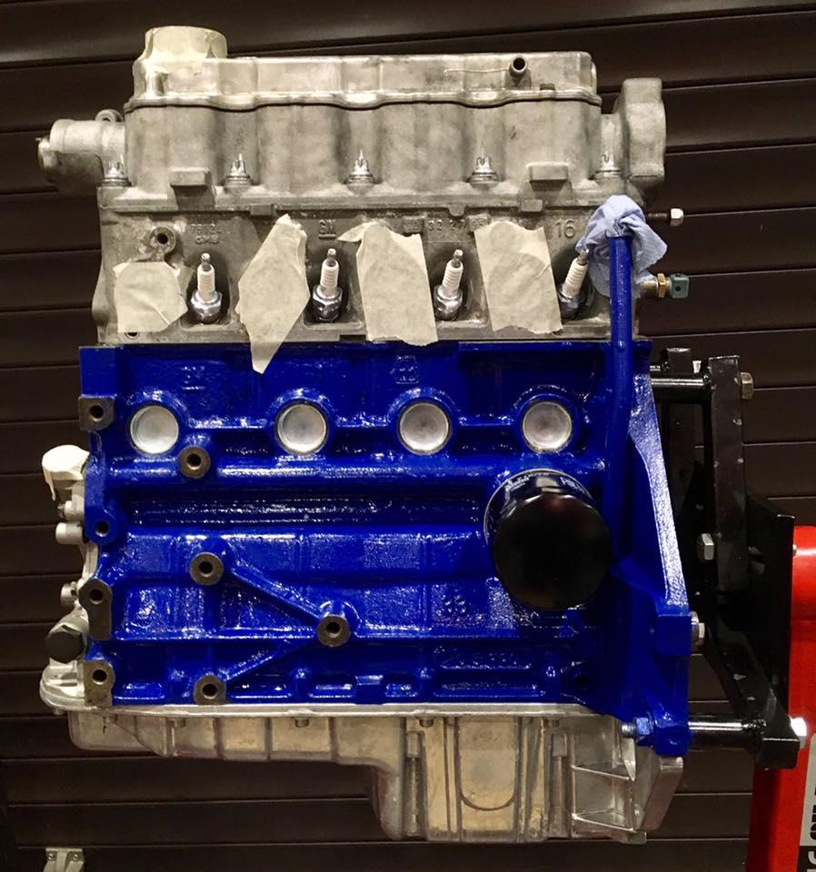 engine built.