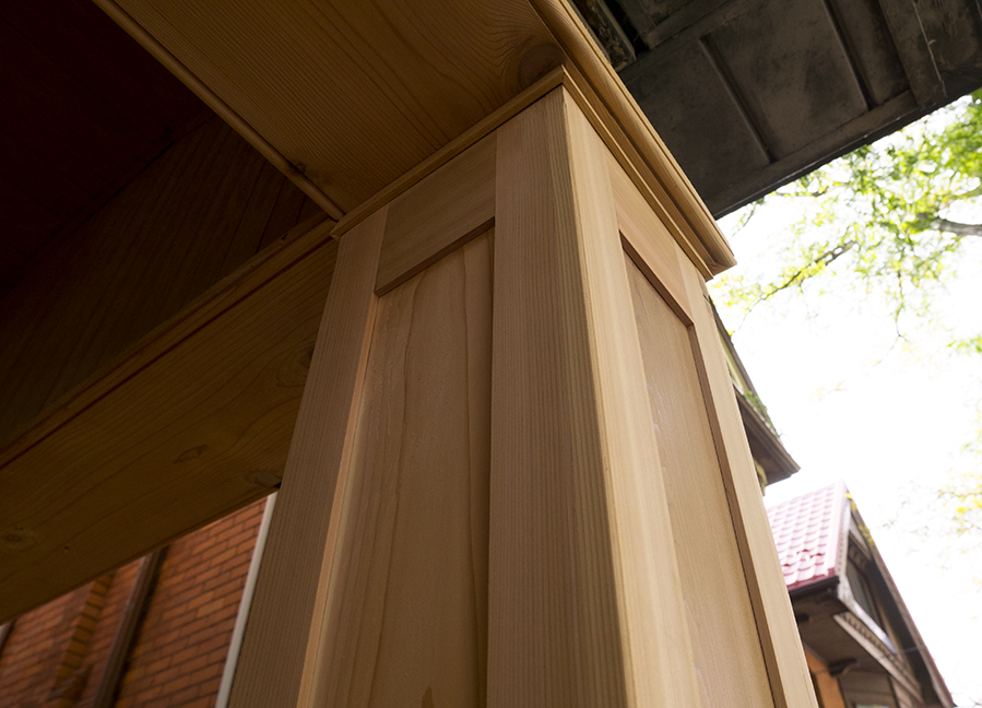 Craftsman style porch