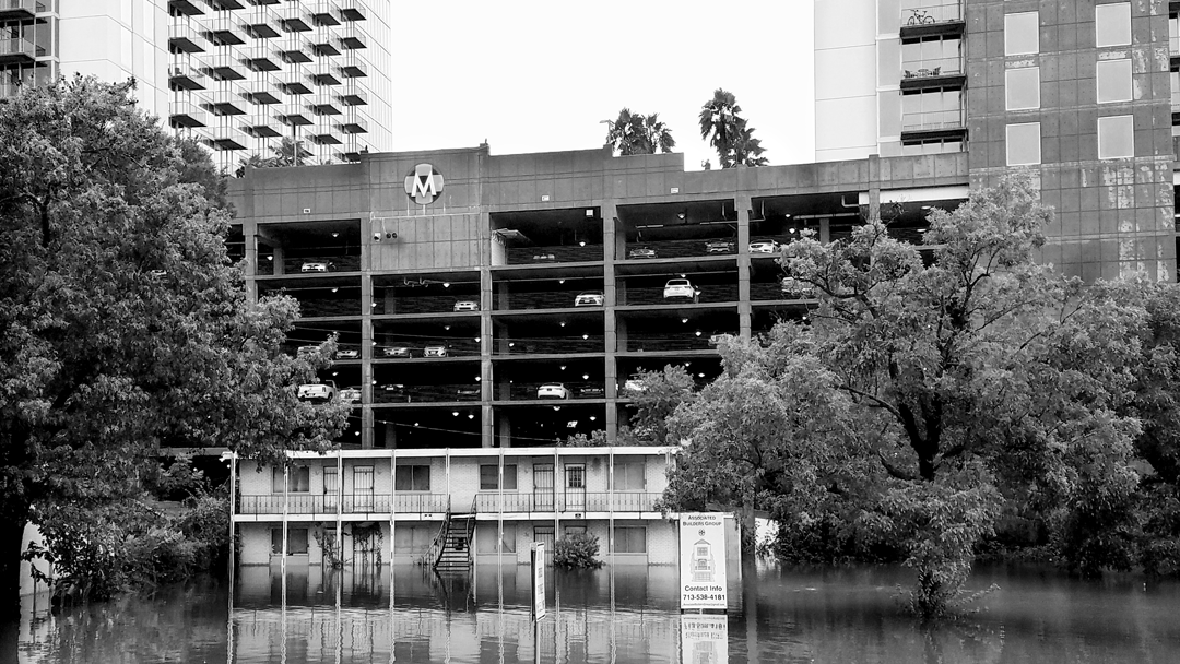 """Houston Flood: 288 @ Holocombe."" August 27, 2017. Photo by Scott Cartwright."