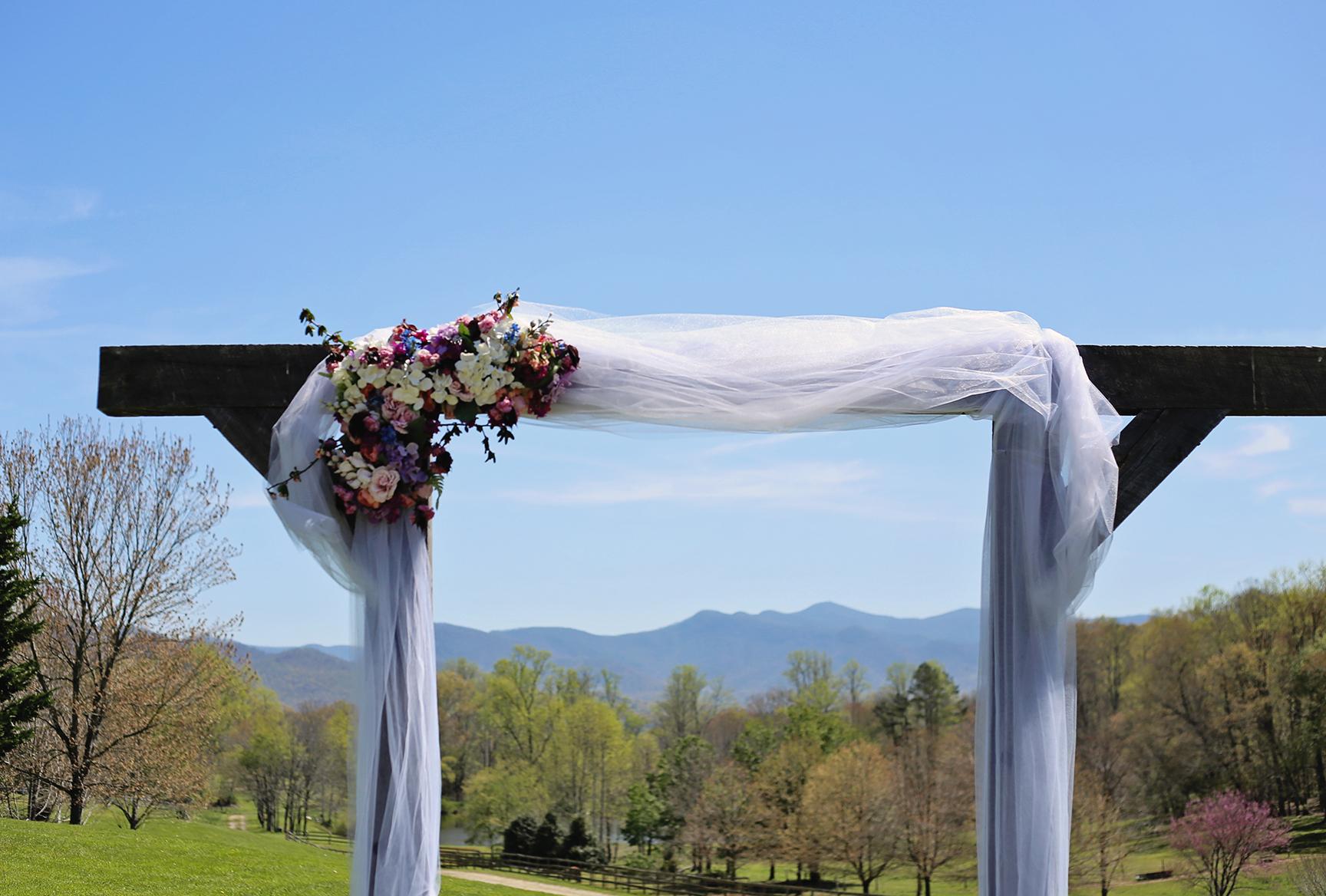 Mountain Farm Wedding