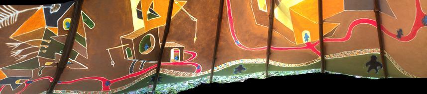 "#WalkAboutTipi - Interior Detail   ~15""x72"""