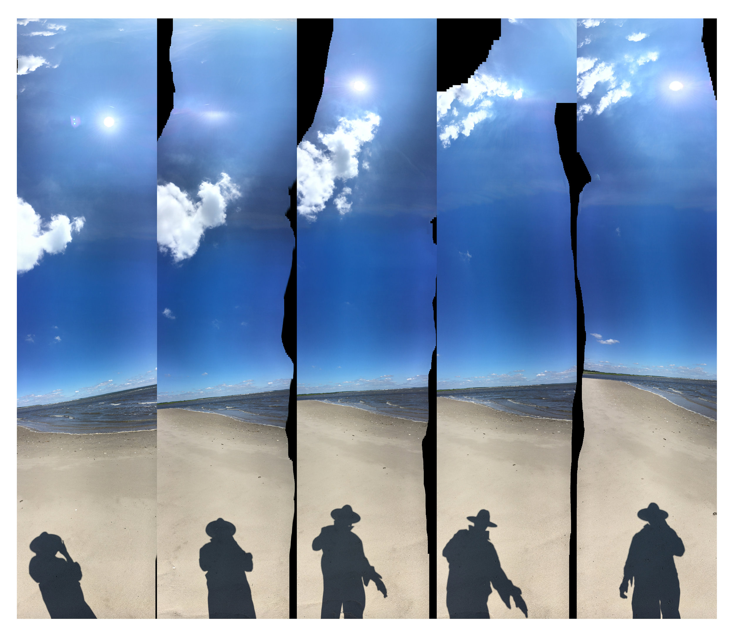 """Beach Cowboy 5 States""   24""x30""; archival digital print; 2019  THIRD PLACE AWARD, PHOTOGRAPHY,    A Moment in Time Spring Juried Art Competition, 2019,  Old Town Arts & Crafts Guild, Inc. Cutchogue, NY"