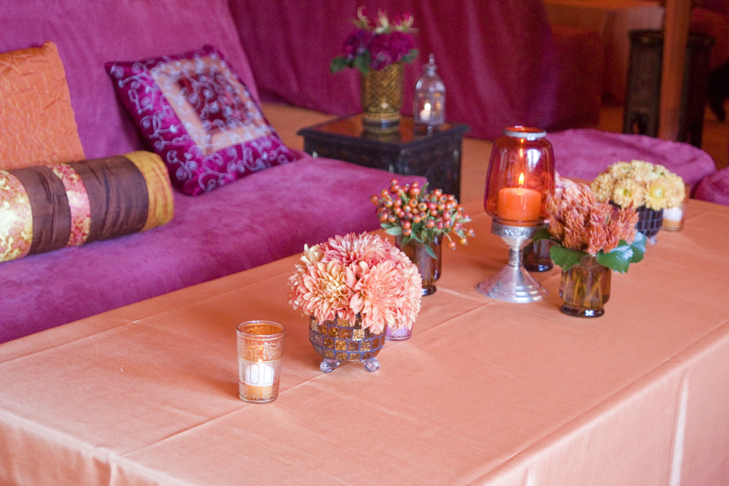 Moroccan Themed Birthday