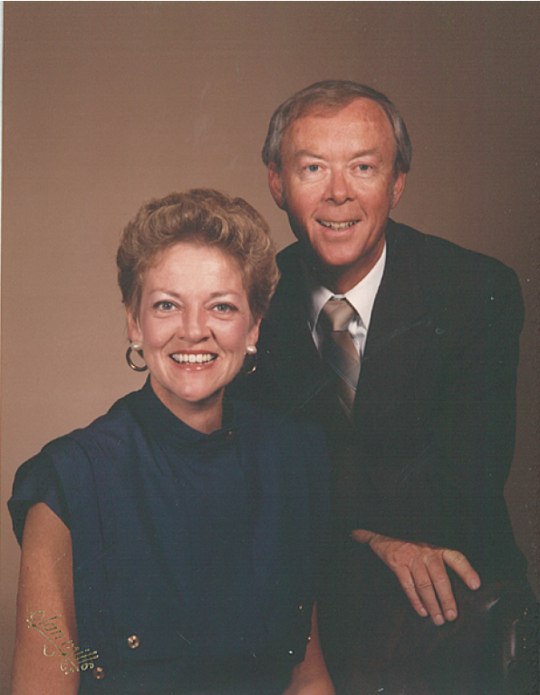 Terry and Valerie's portrait from St. Wenceslaus Catholic Church.