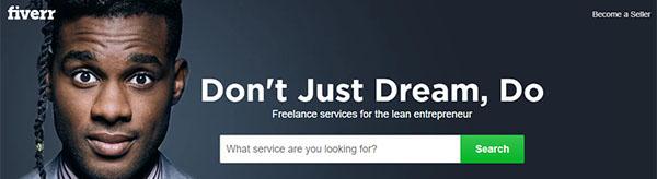 ¡Únete a  Fiverr  y ofrece tus servicios!