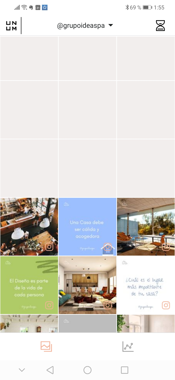 organizar instagram