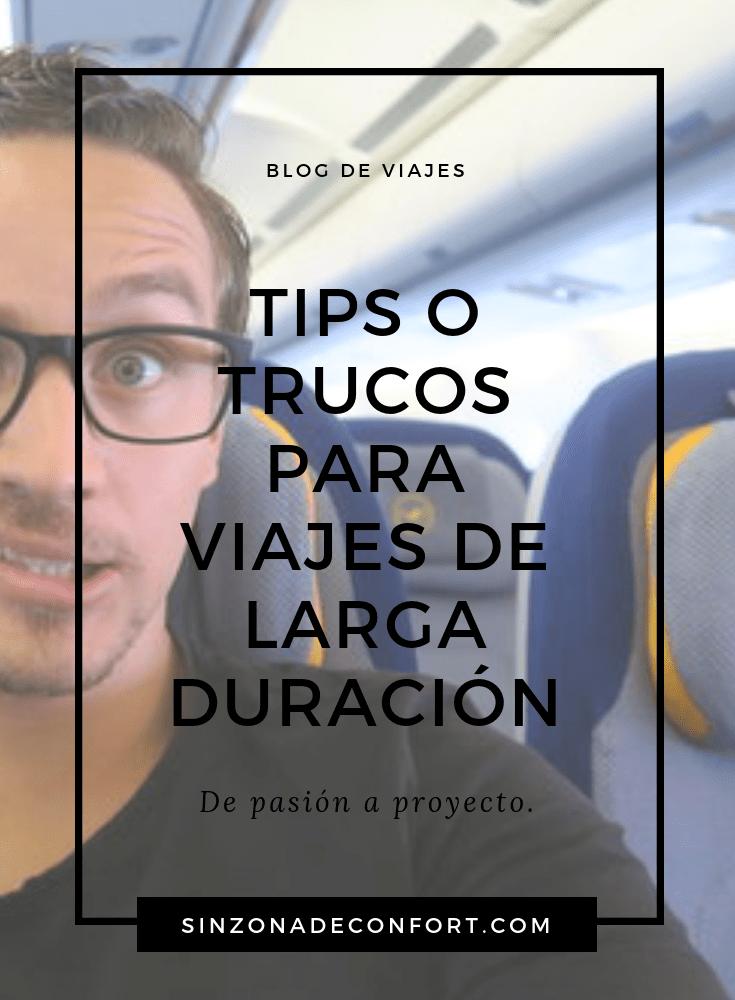 tips o trucos para viajes largos