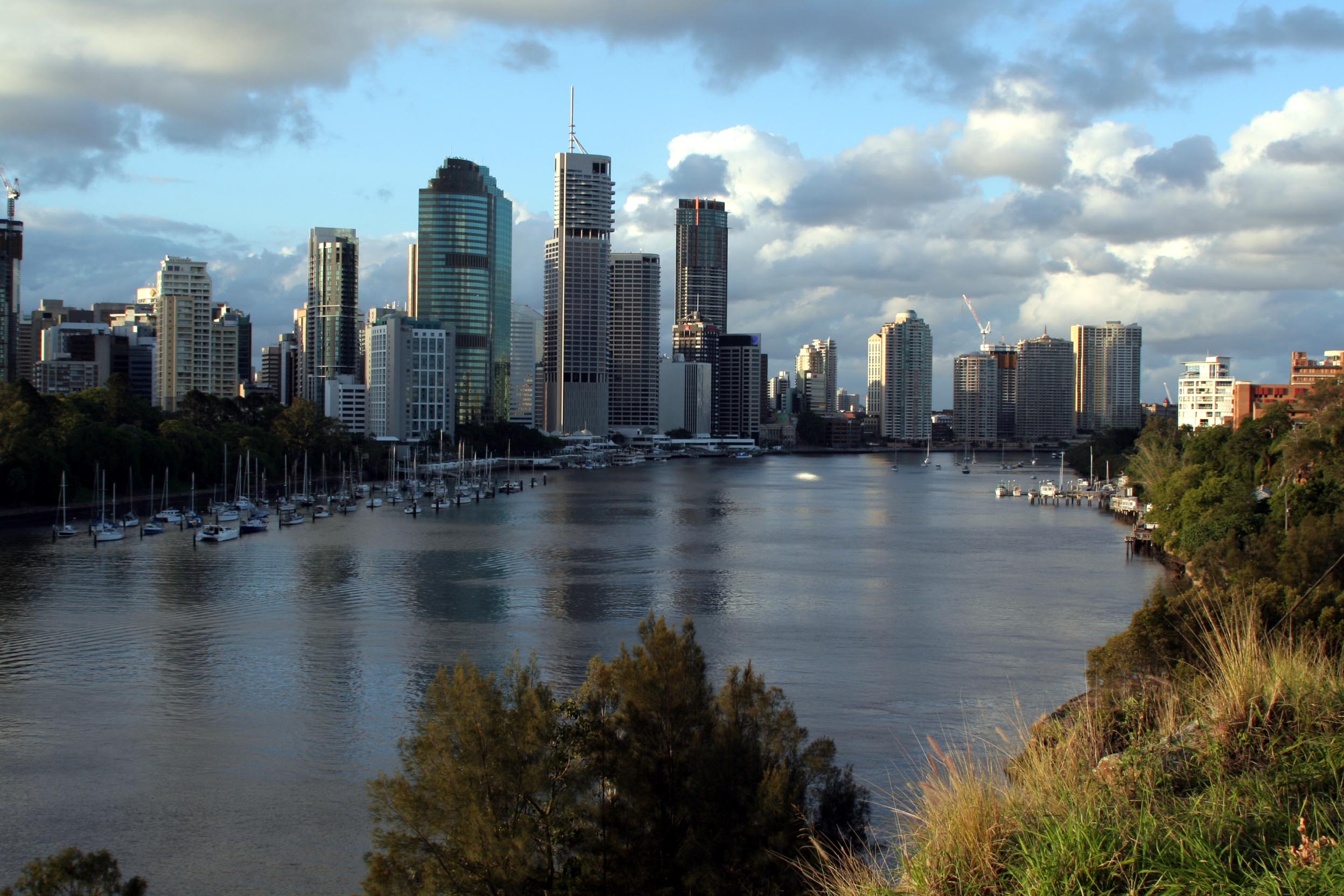 Brisbane River from Kangaroo Point