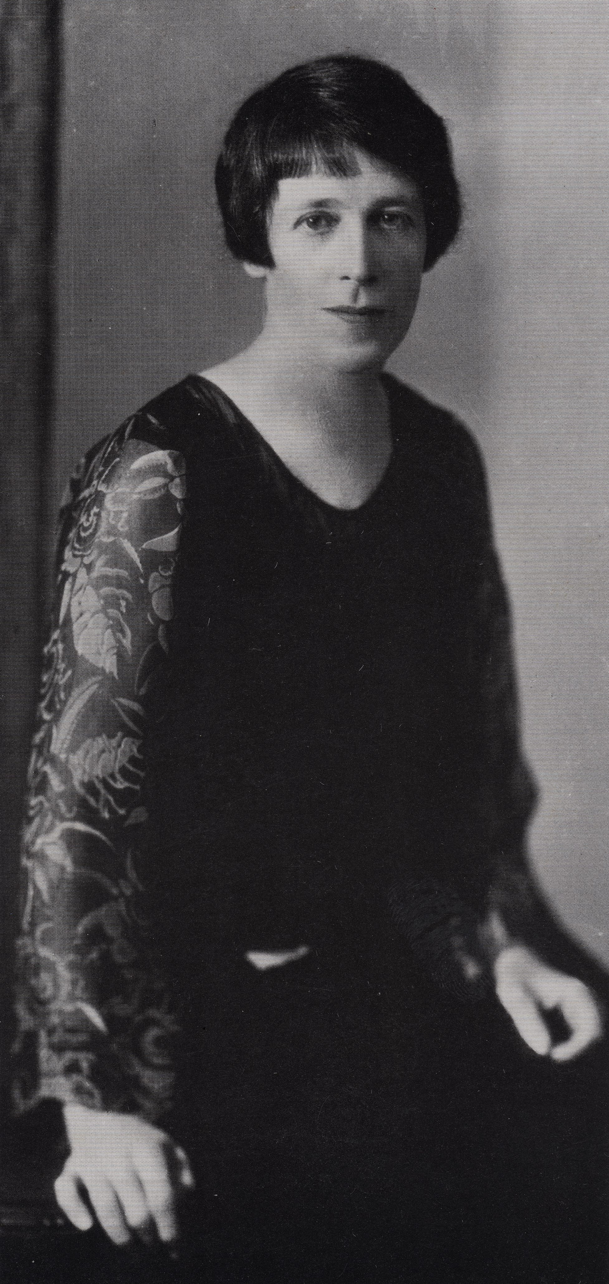 Vida Lahey, 1927, photograph courtesy of John and Hazel Lahey.
