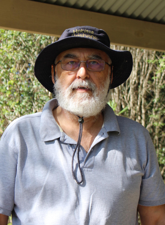 Bushcare volunteer, David Holdom.