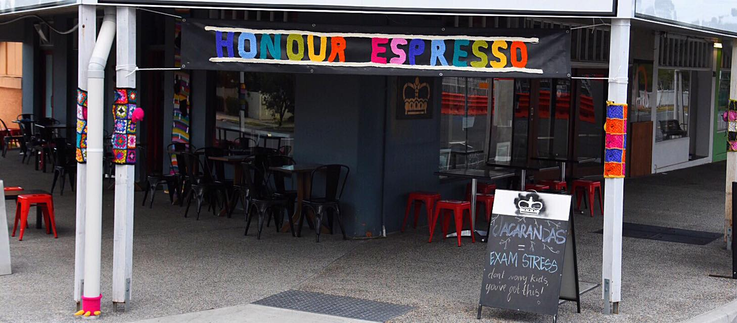 Thanks Angie and Lui from Honour Espresso in Graceville for being such amazing sports!