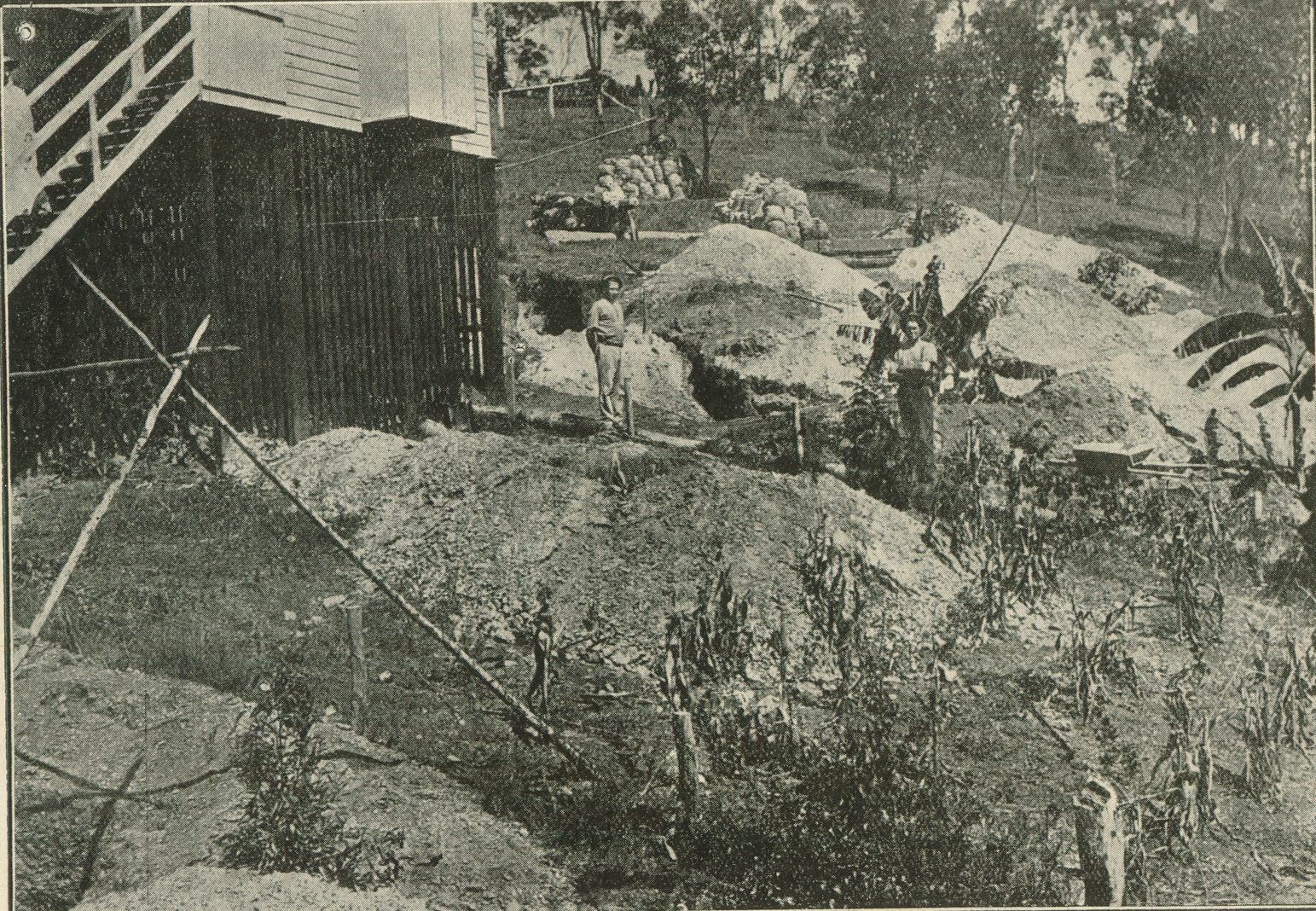 Page 28 of the  Queenslander Pictorial , Supplement to  The Queenslander , 25 January, 1919. The silver mine at Indooroopilly.