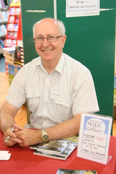 Peter Ludlow at a book signing.