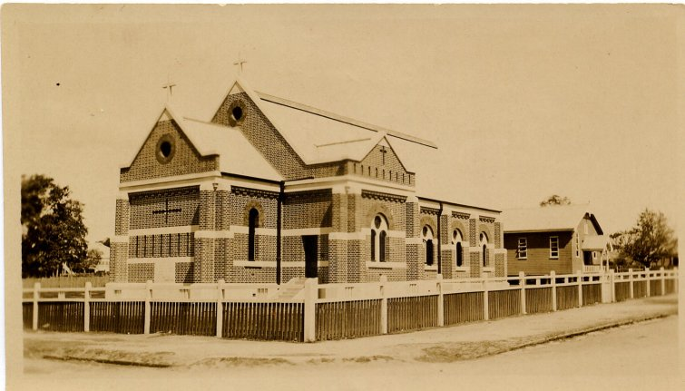 The third St Matthew's before the final extension was added, in about 1923