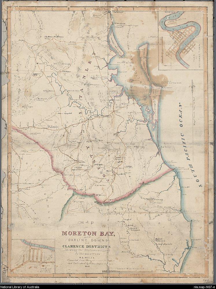 Map by Robert Dixon (1800–1858) - Public Domain