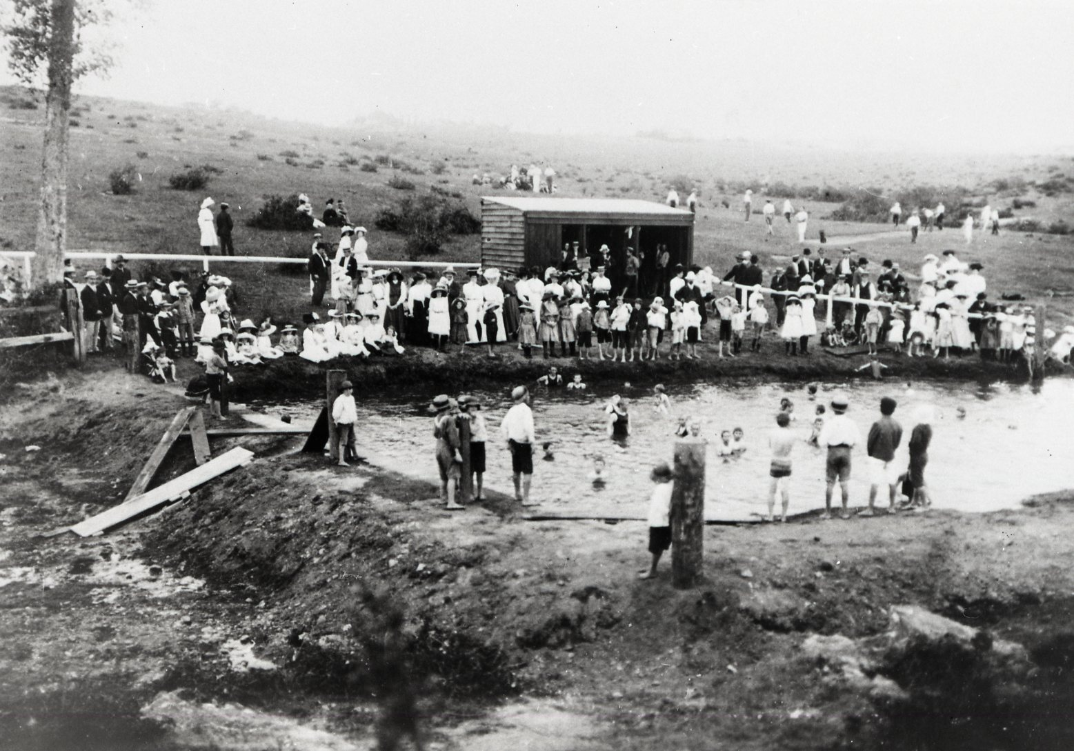 Ithaca Baths, 1909. (A227-BCC-B54)