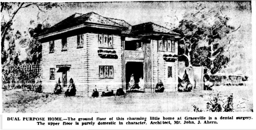 Dual Purpose Home , 24 November 1936,  The Courier-Mail