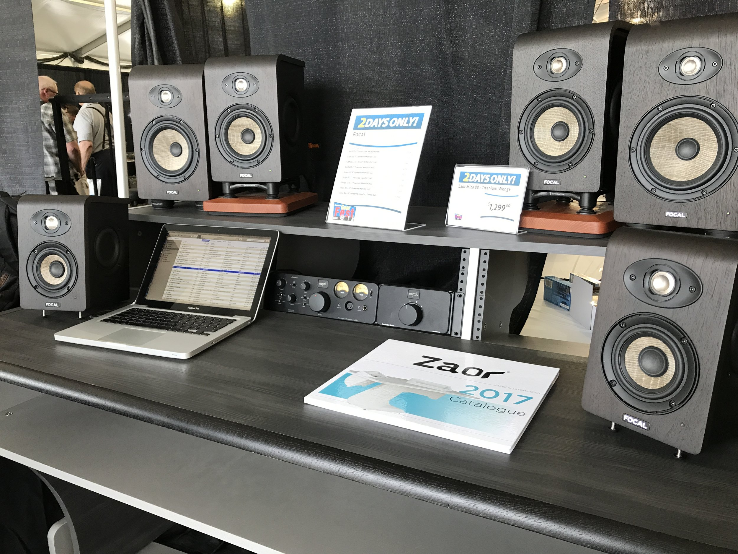 Focal Monitors Booth