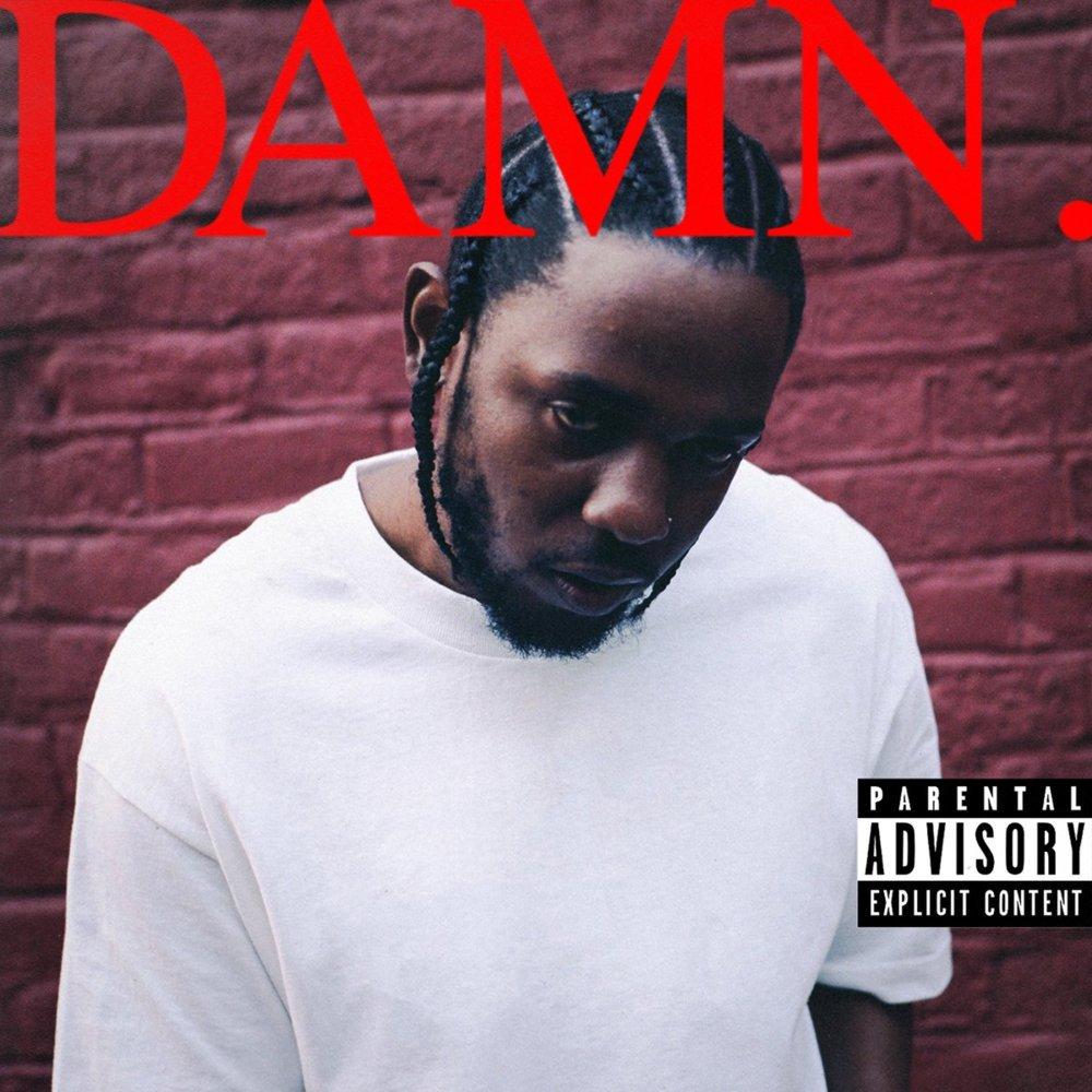 1. Kendrick Lamar - DAMN.