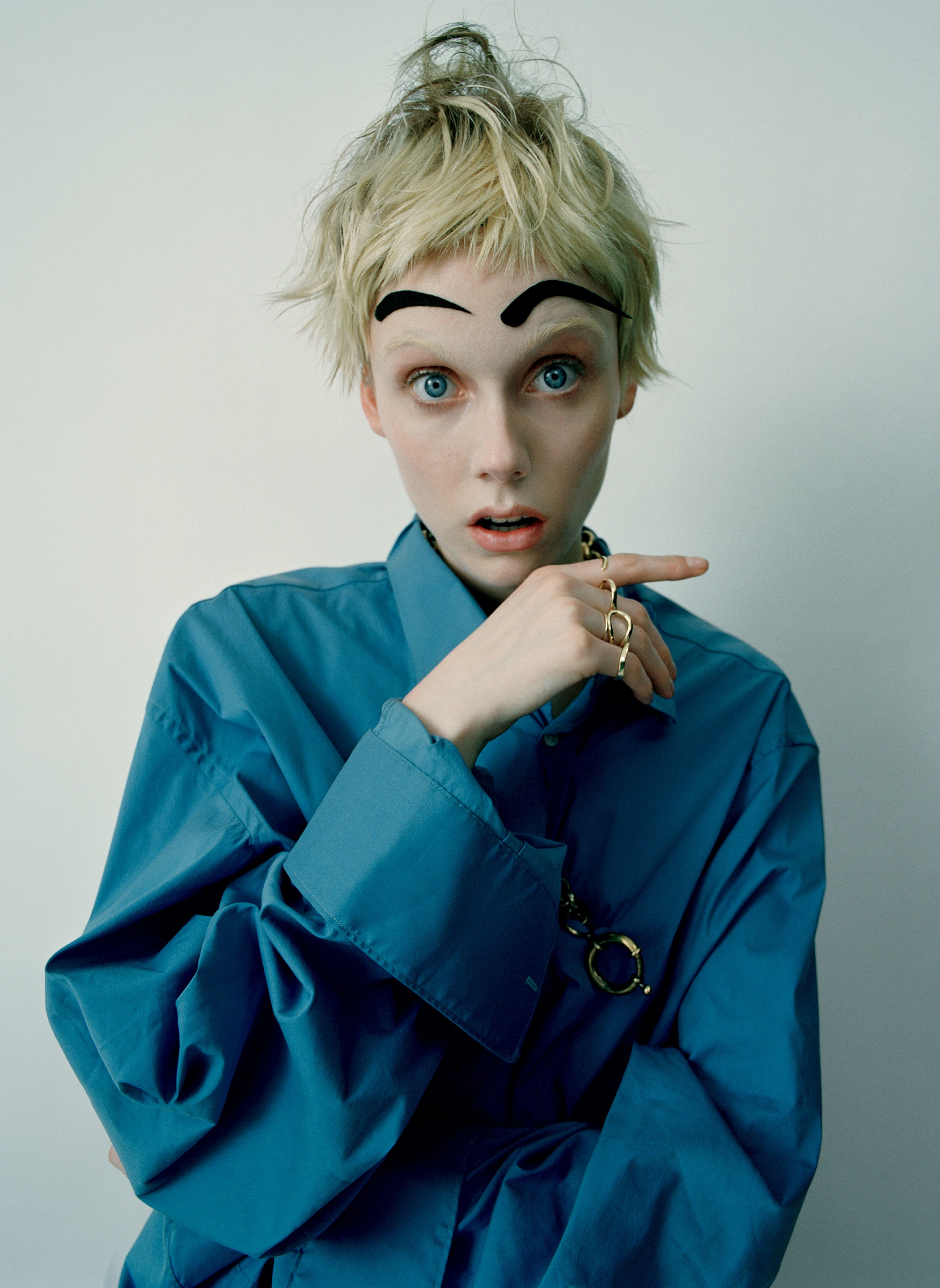Brows by Tim Walker and Phyllis Posnick