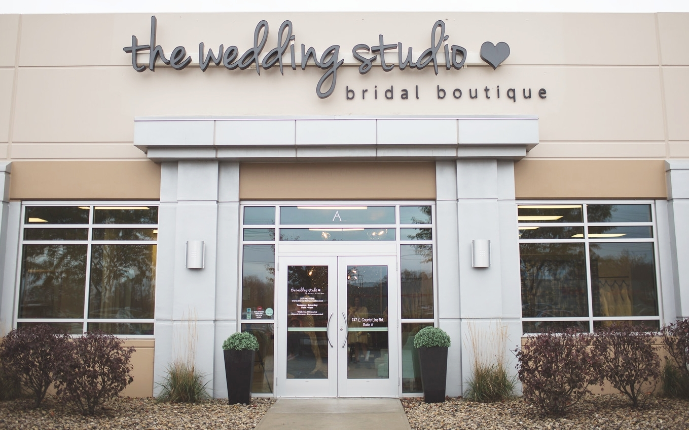 The Wedding Studio Bridal Boutique in Greenwood Indiana