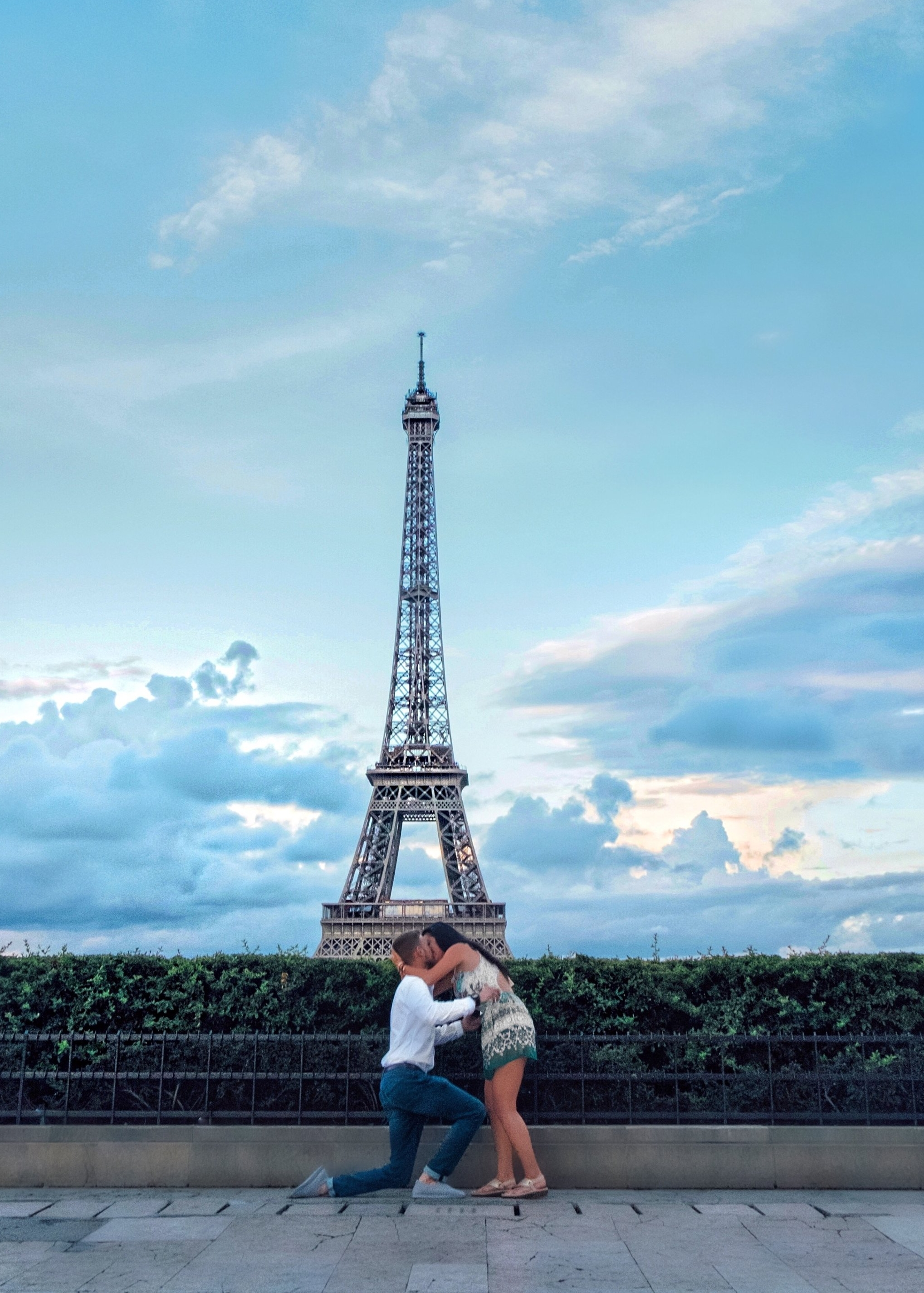 The Wedding Studio Paris Engagement