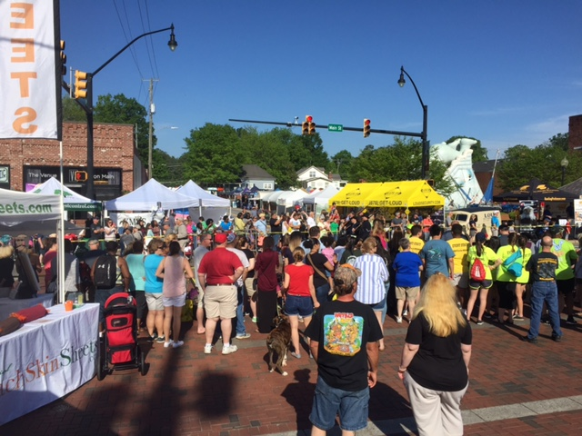 The Big Shanty Festival welcomed thousands on Saturday,April 22.