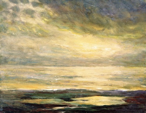 emil nolde sea mood