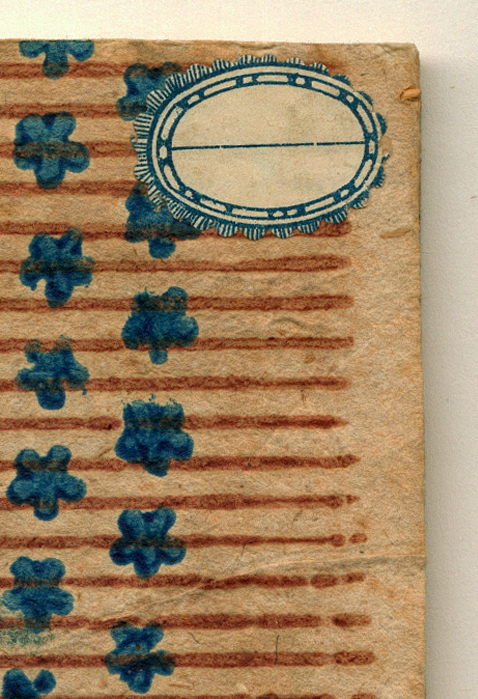 historic decorated papers of bookbinder Carmencho Arregui in Italy.
