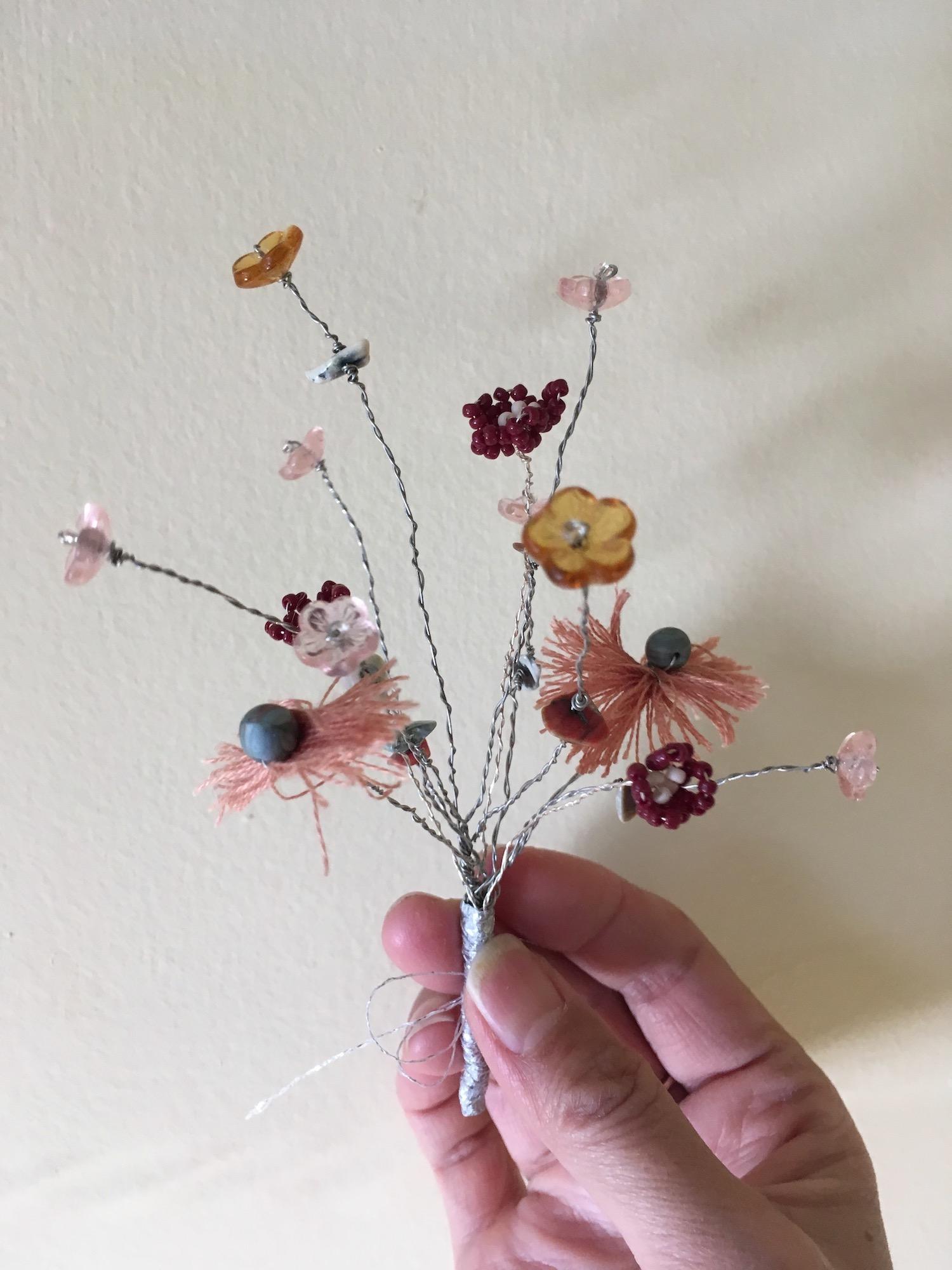 bouquet, rosy mix no. 1