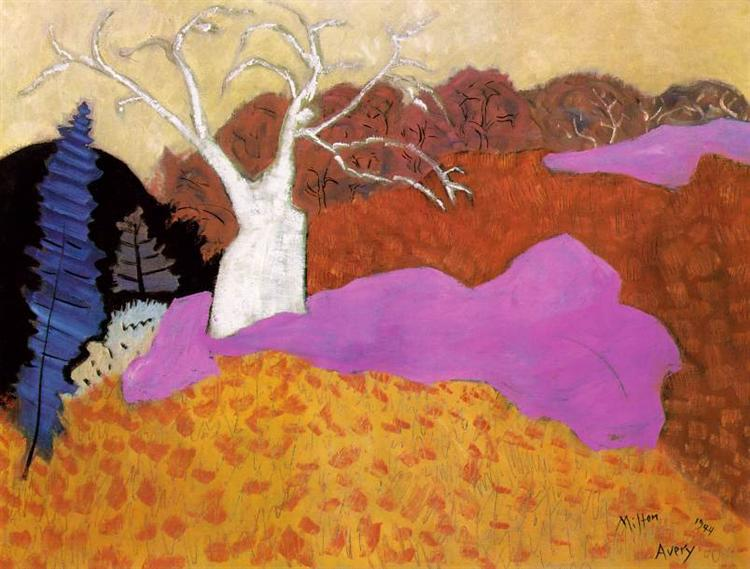 Milton Avery autumn