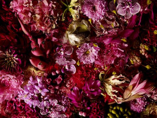 Azuma Shiinoki floral sculpture