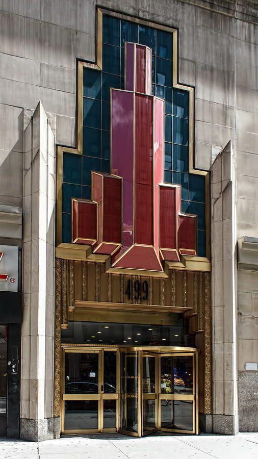 Art Deco fashion tower