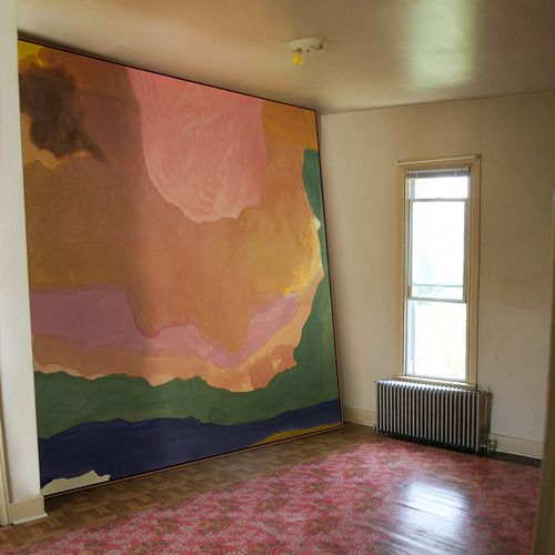 Helen Frankenthaler, flood