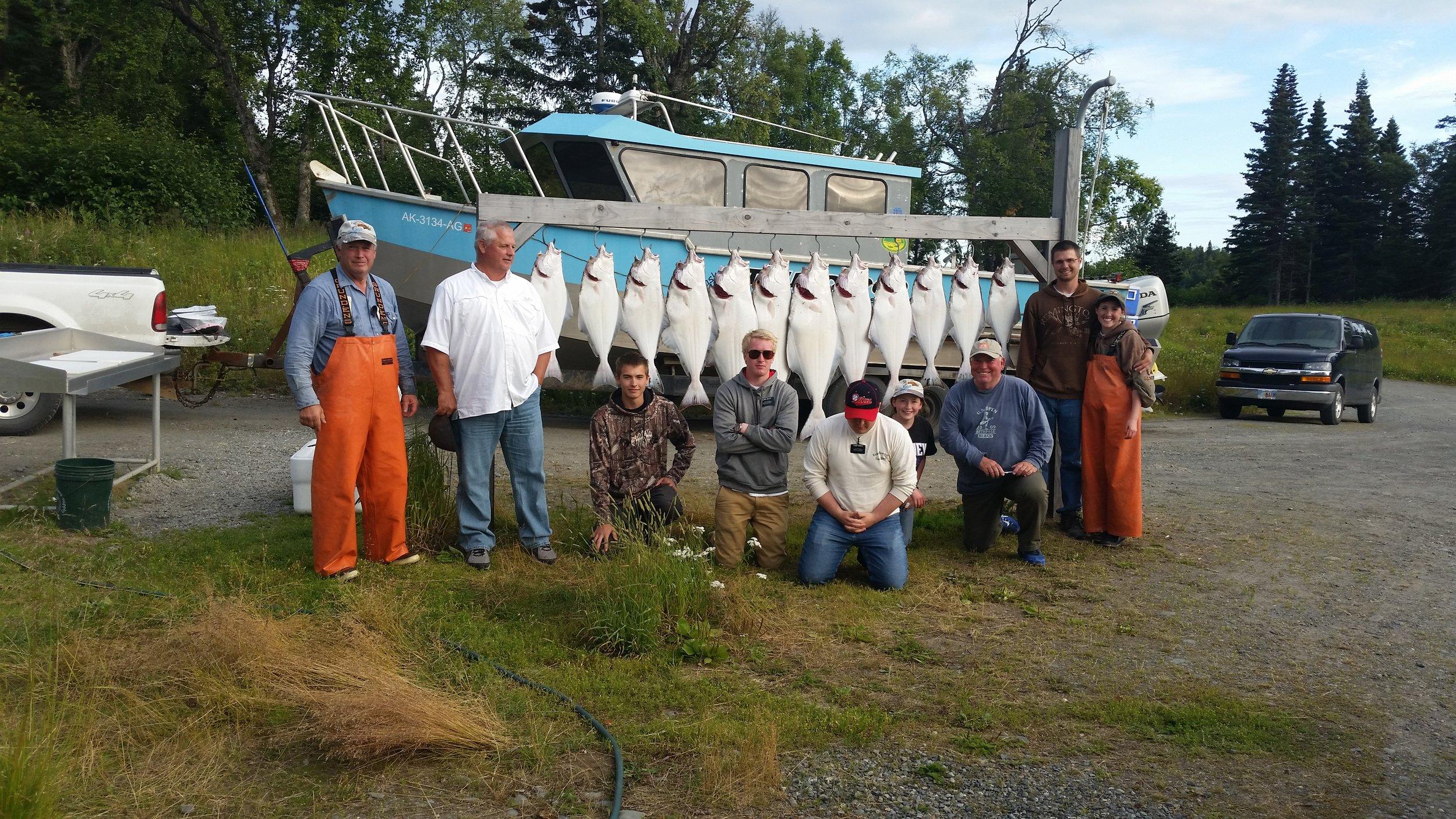 halibut fishing out of ninilchik or homer (Alaskan thunderod fishing adventures shown here)