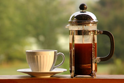 Brewing Kopi Luwak with a French Press