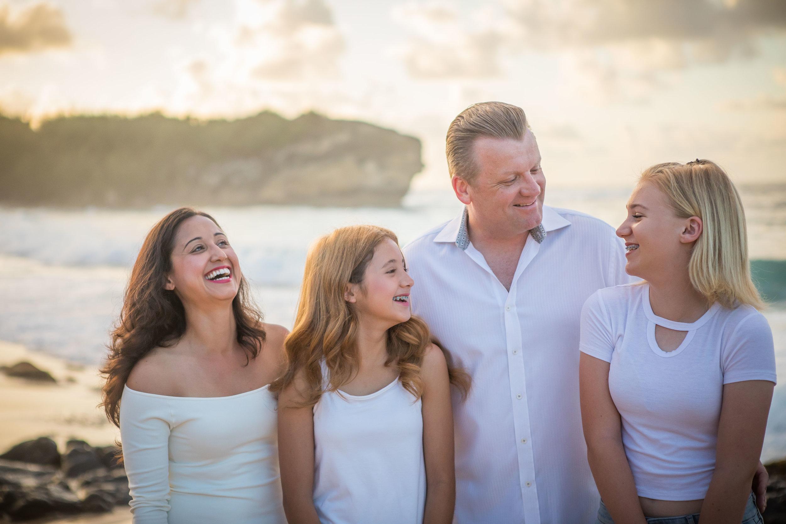 Kauai Family Photograph