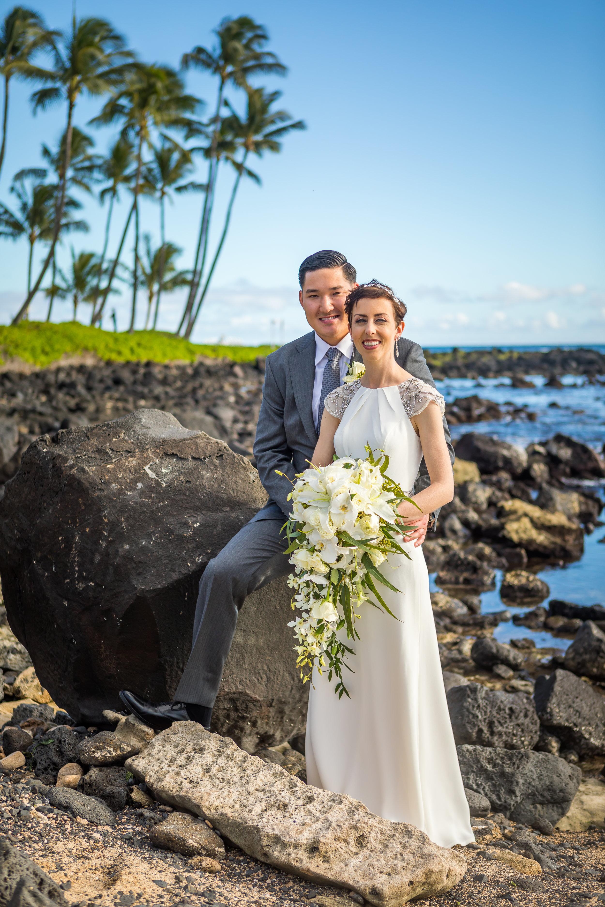 Kauai Beach Wedding Photograph-37