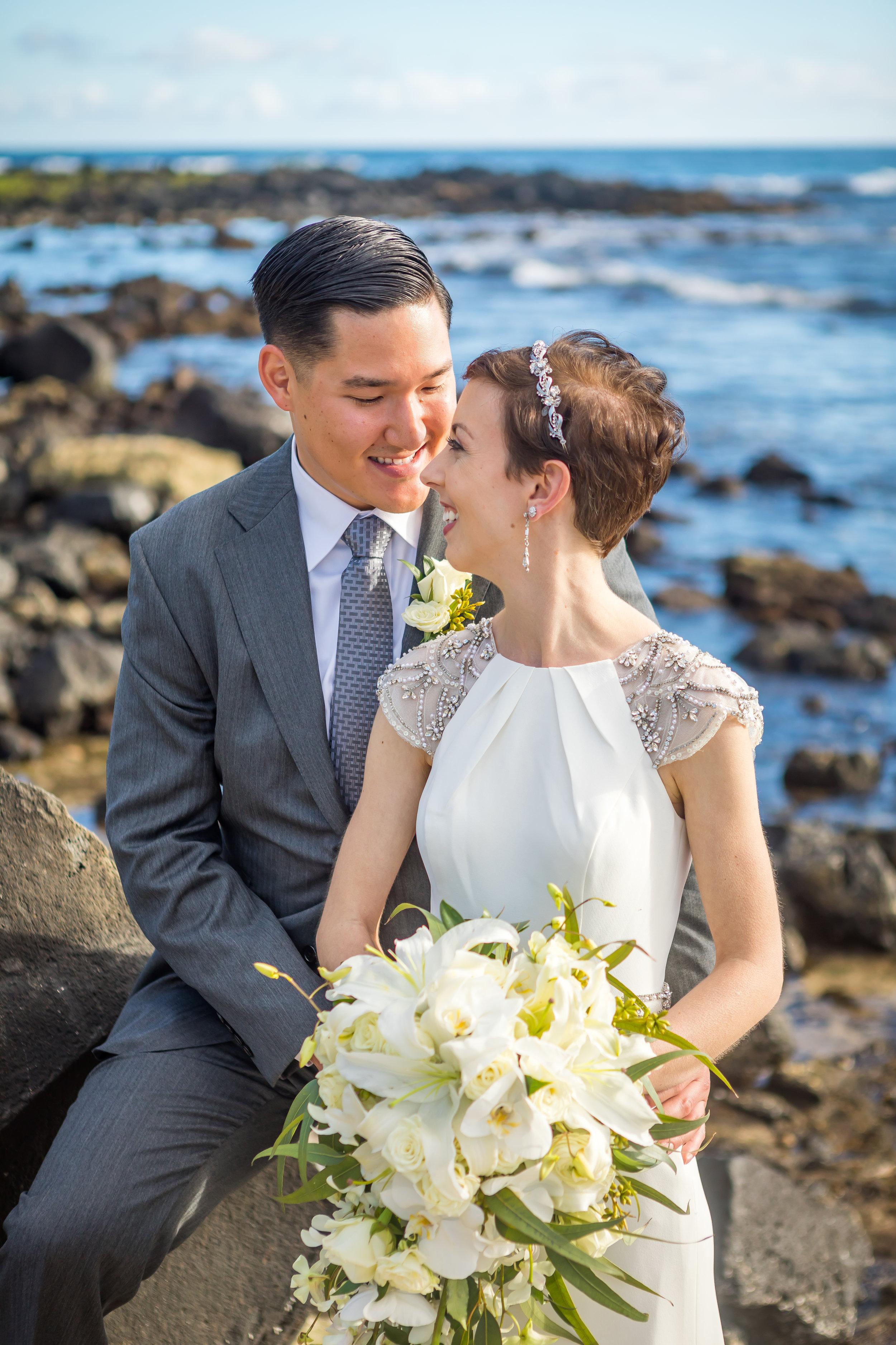 Kauai Beach Wedding Photograph-38