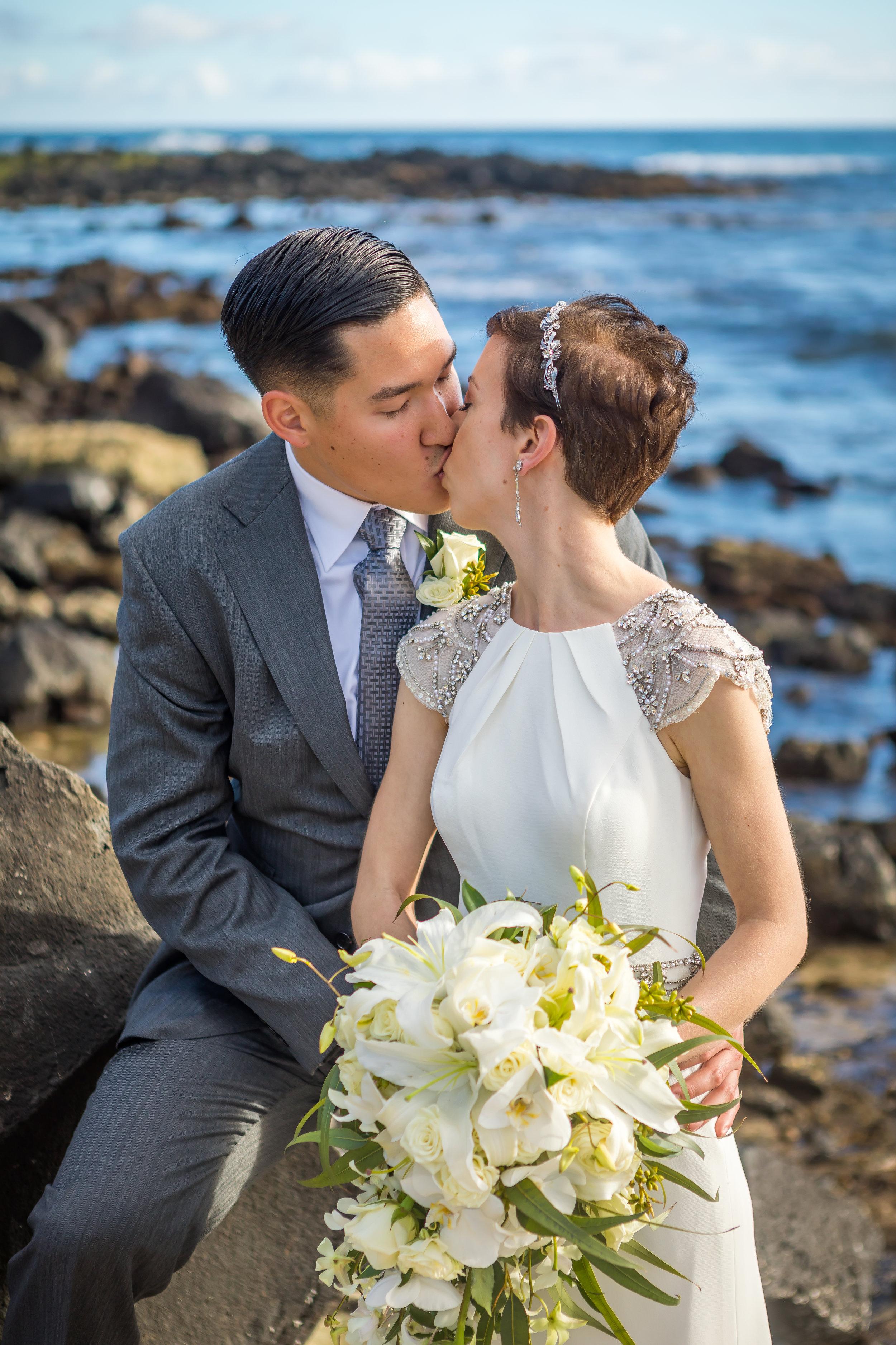Kauai Beach Wedding Photograph-39
