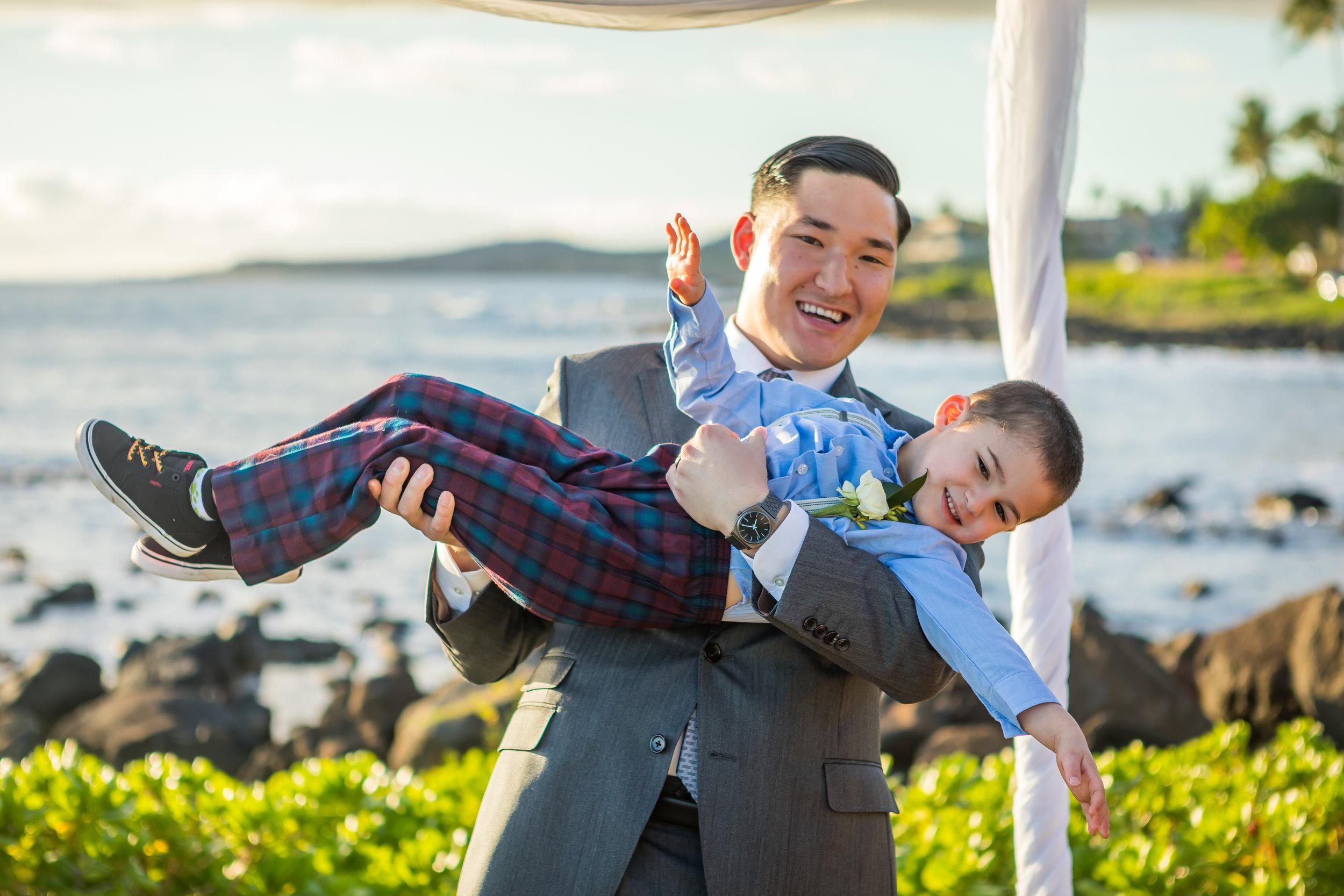 Kauai Beach Wedding Photograph-41