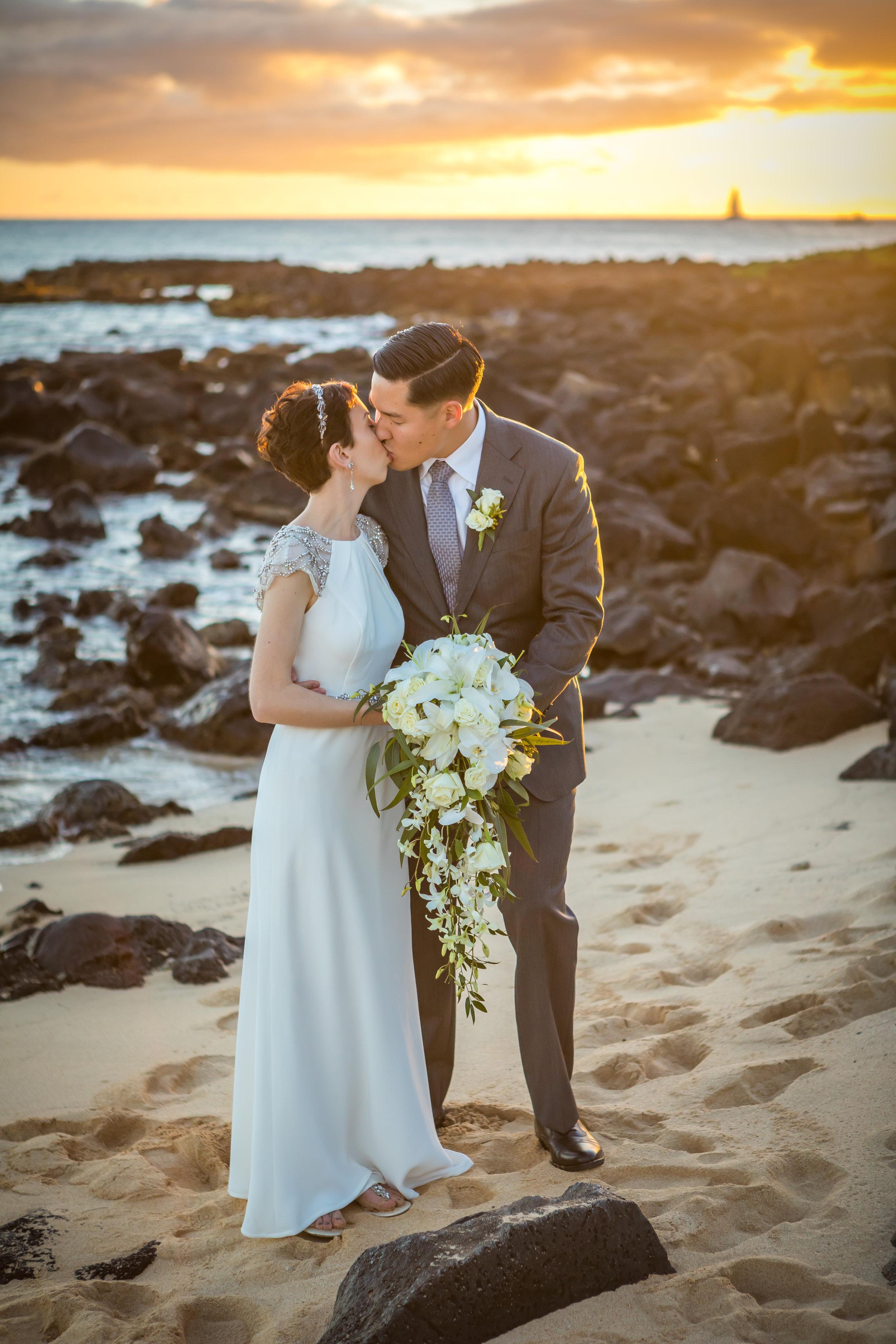 Kauai Beach Wedding Photograph-44