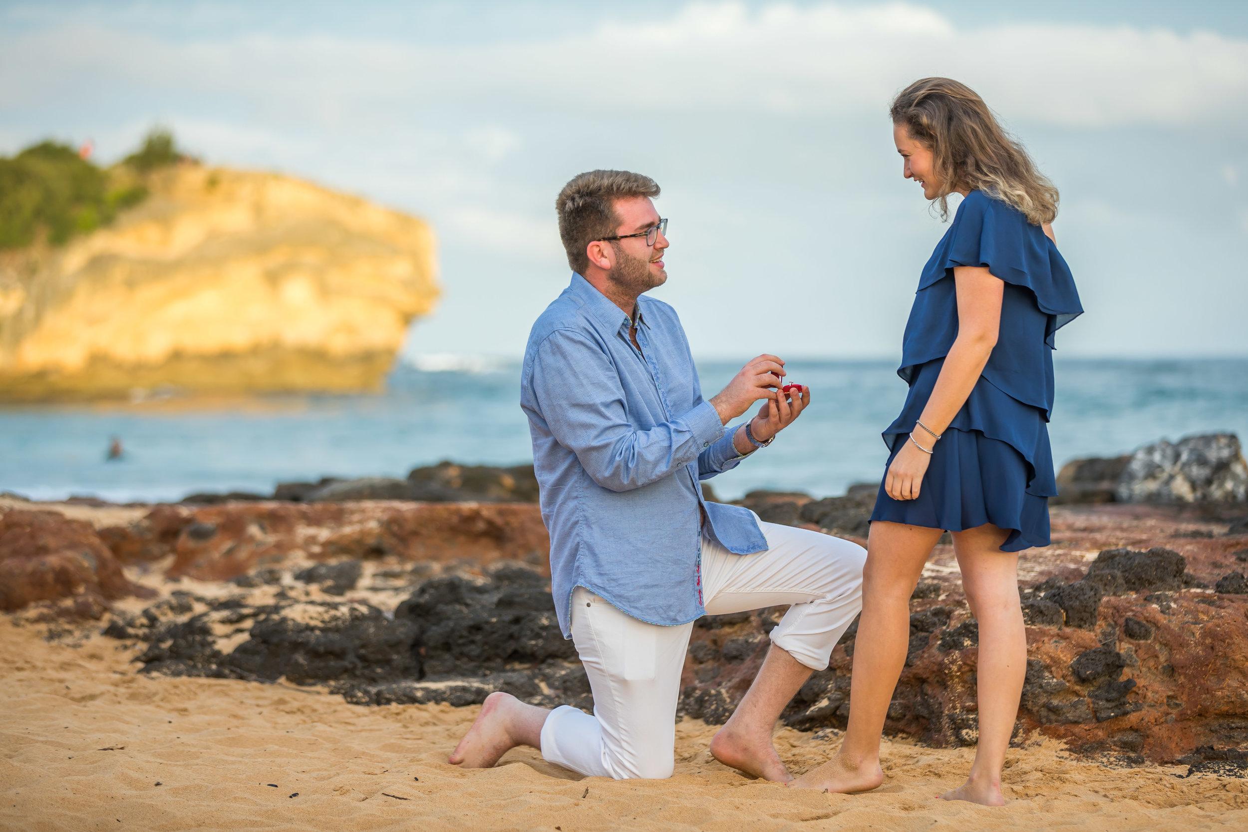 Kauai Surprise Engagement Photo 01