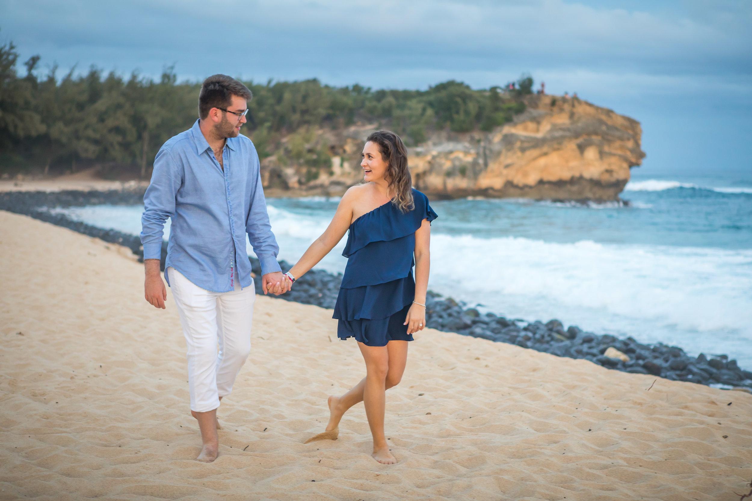 Kauai Surprise Engagement Photo 08