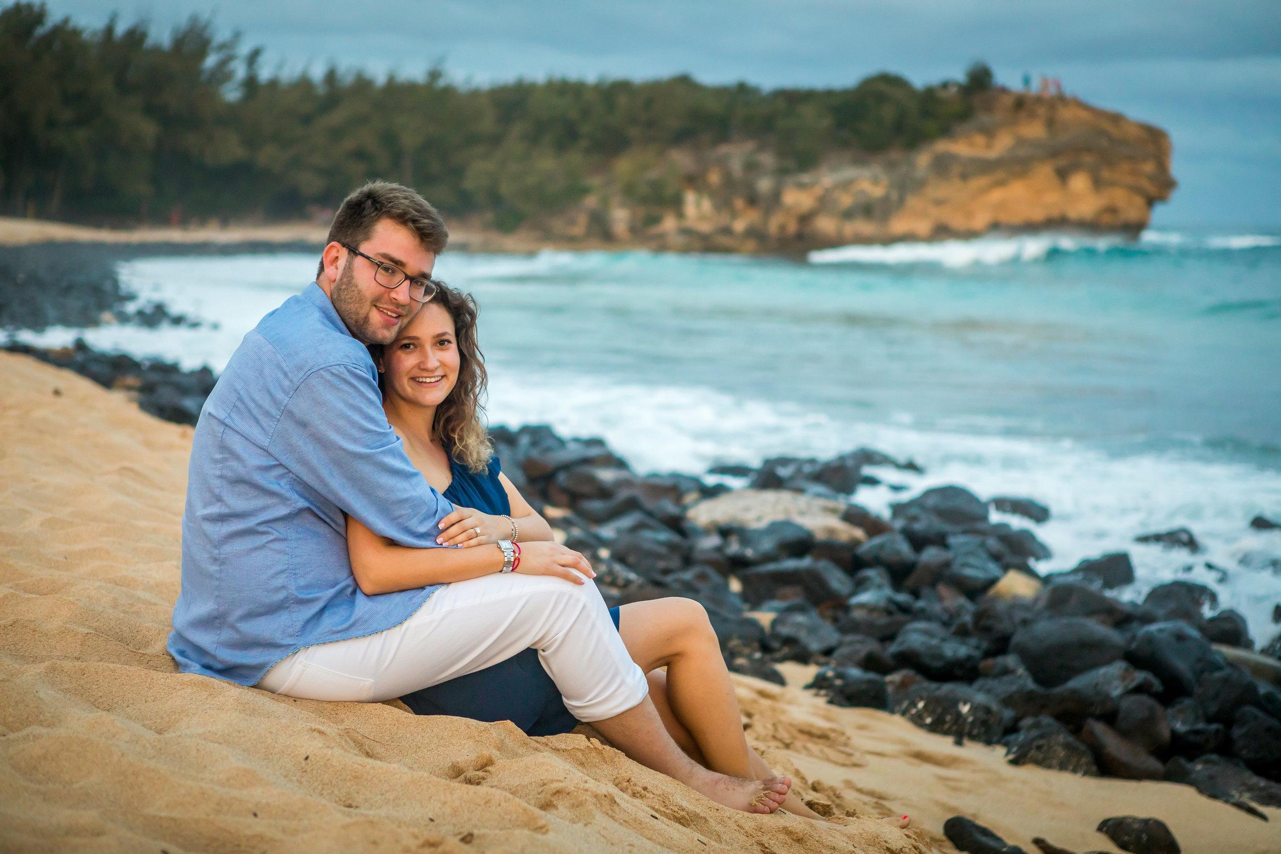 Kauai Surprise Engagement Photo 09