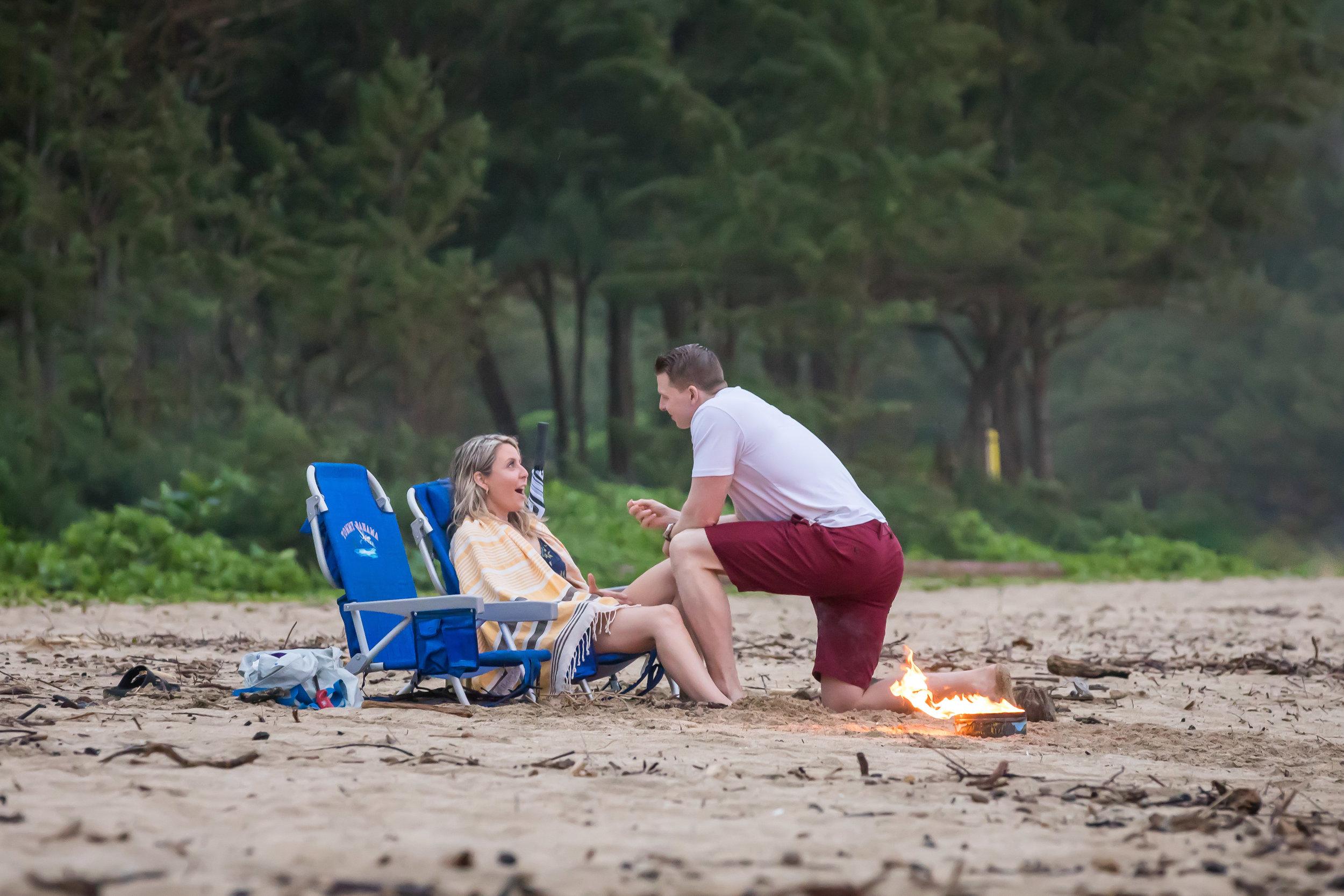Kauai Surprise Engagement Photo 13